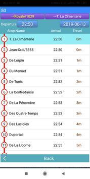 Quebec RTC Bus Timetable screenshot 3