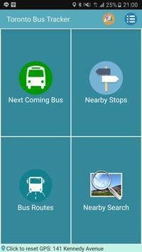 Toronto Bus Tracker poster