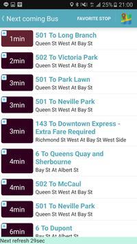 Toronto Bus Tracker screenshot 1