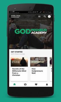 GodPreneur Academy screenshot 2