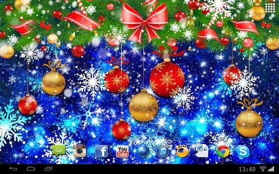 Christmas Balls Live Wallpaper screenshot 3