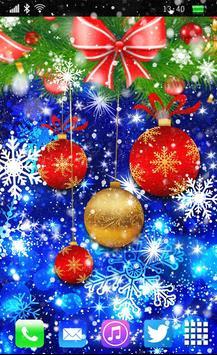 Christmas Balls Live Wallpaper screenshot 1