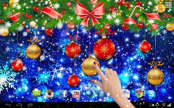 Christmas Balls Live Wallpaper screenshot 2