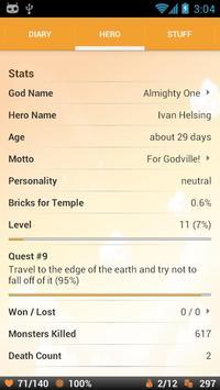 Godville screenshot 2