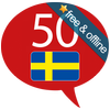 Zweeds 50 talen-icoon