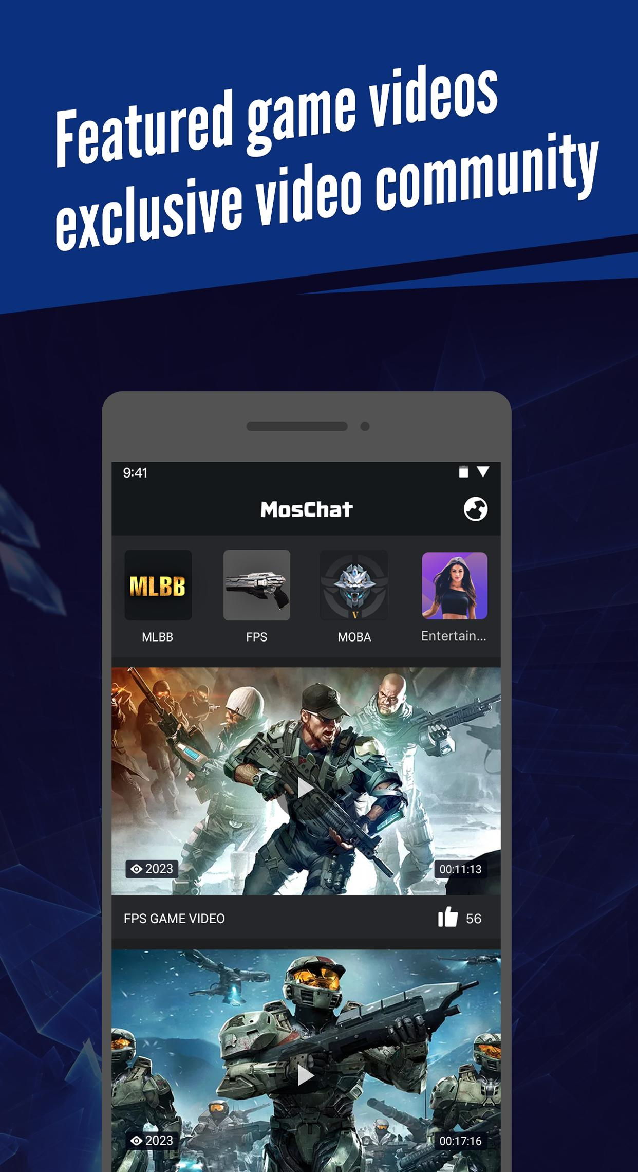 MosChat-Professional gaming stats tracker for Android - APK