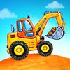 Çocuklar için kamyon oyunları - kepçe oyunları simgesi