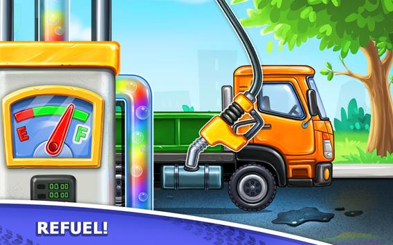 Truck games for kids - build a house, car wash16