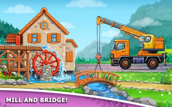 Truck games for kids - build a house, car wash19