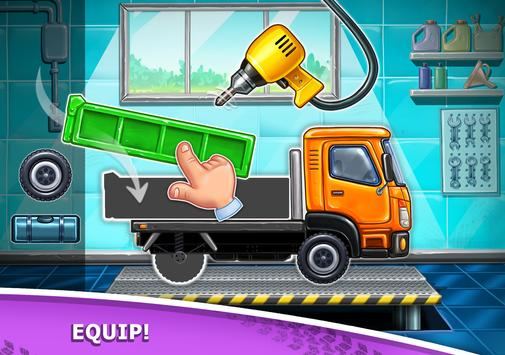 Truck games for kids - build a house, car wash7