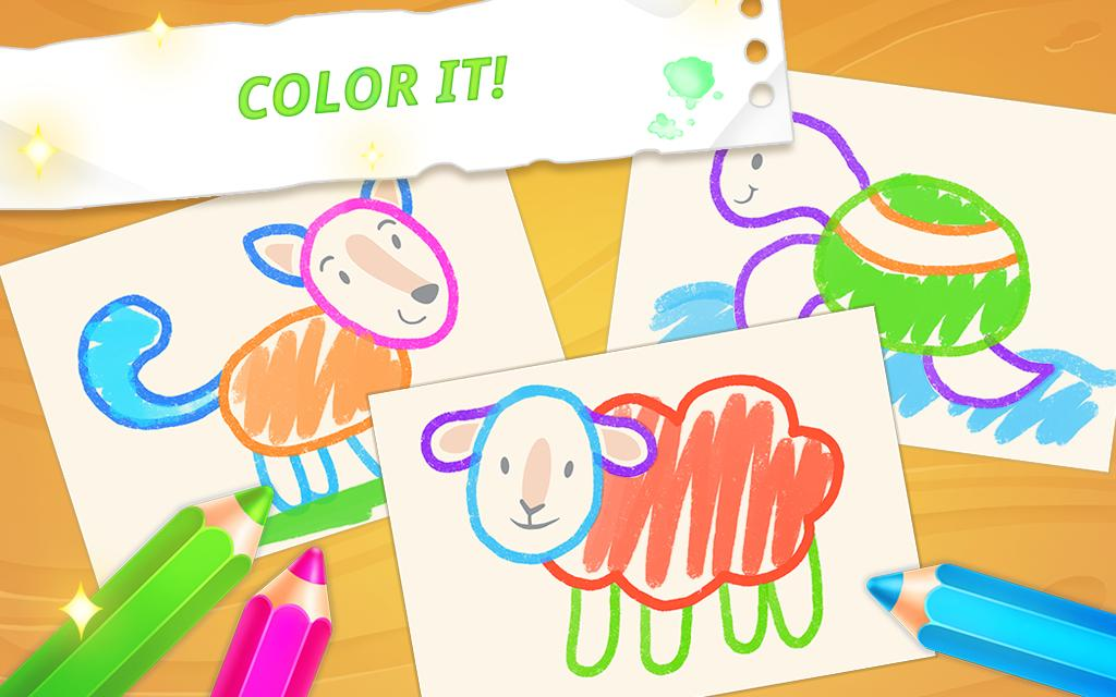 Drawing for toddlers 🎨 coloring games for kids for Android ...