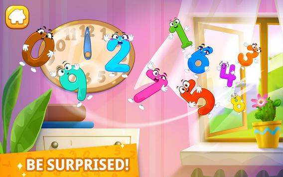 Numbers for kids! Counting 123 games! screenshot 12