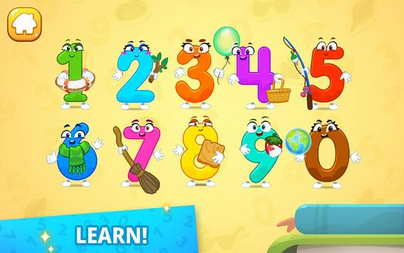 Numbers for kids! Counting 123 games! screenshot 13