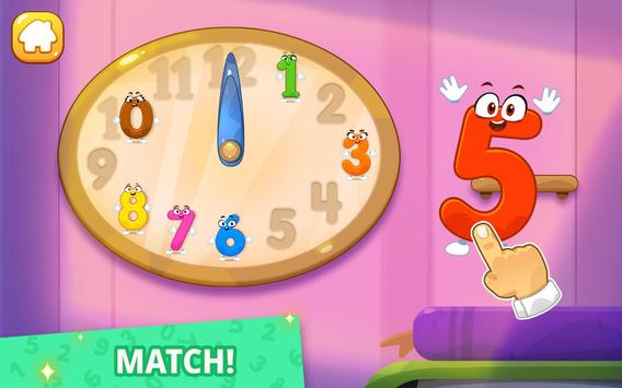 Numbers for kids! Counting 123 games! screenshot 17