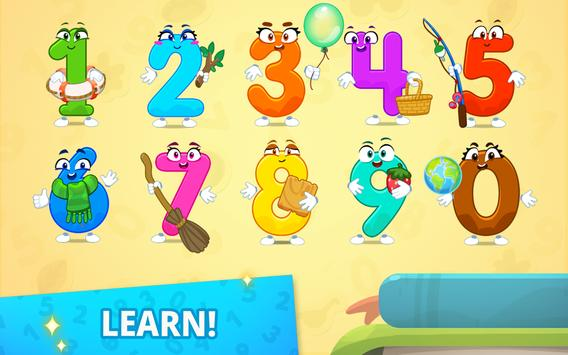 Numbers for kids! Counting 123 games! screenshot 1