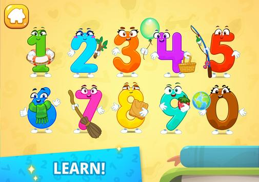 Numbers for kids! Counting 123 games! screenshot 7