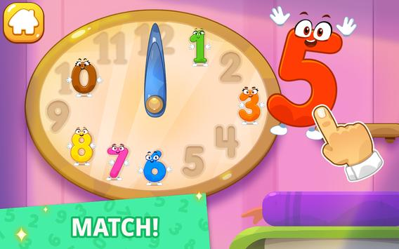 Numbers for kids! Counting 123 games! screenshot 5