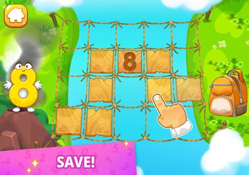 Numbers for kids! Counting 123 games! screenshot 8