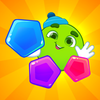 Learning shapes and colors icon