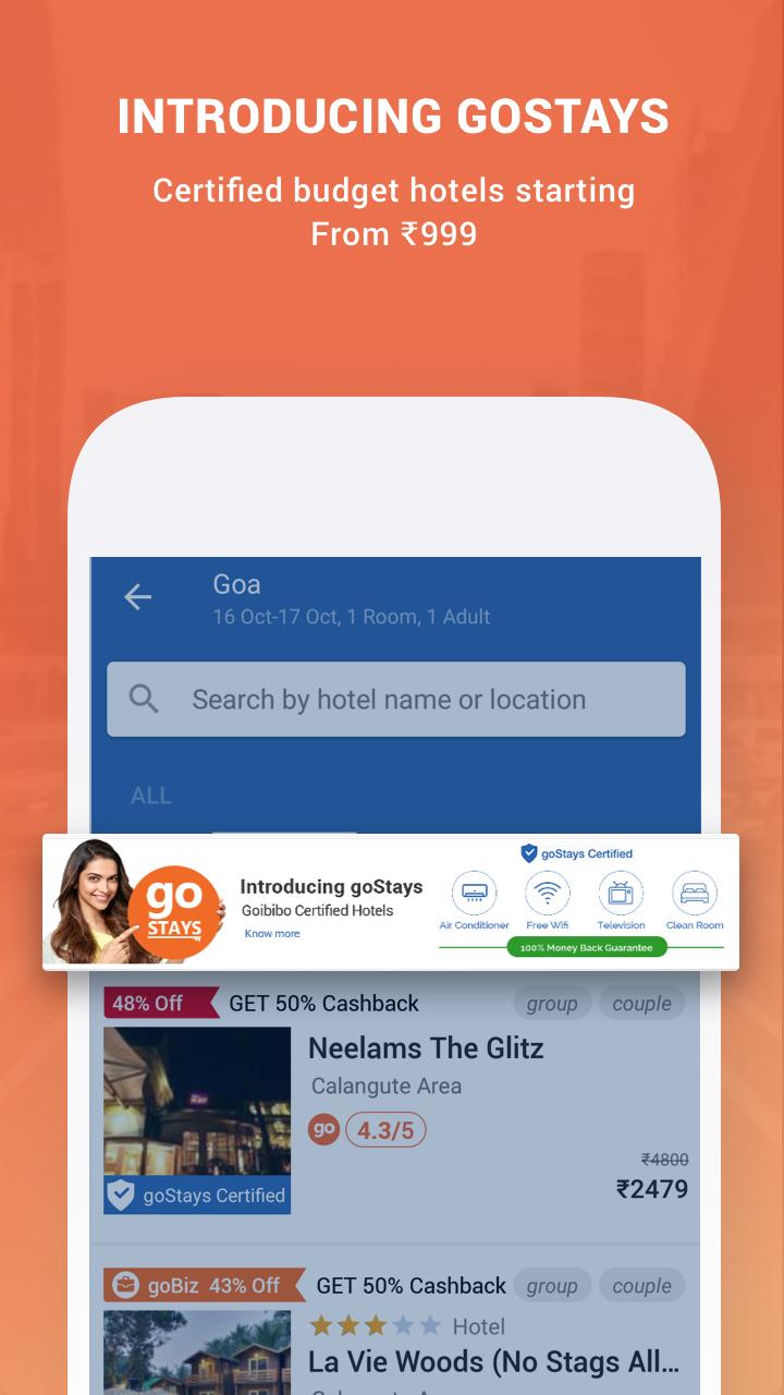 Goibibo for Android - APK Download