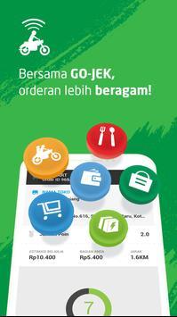 GO-JEK Driver poster