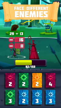 Arithmagic - Math Wizard Game screenshot 2