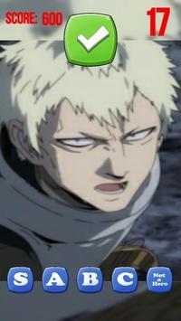 Anime Quiz Battle Arena - OnePunchMan screenshot 2