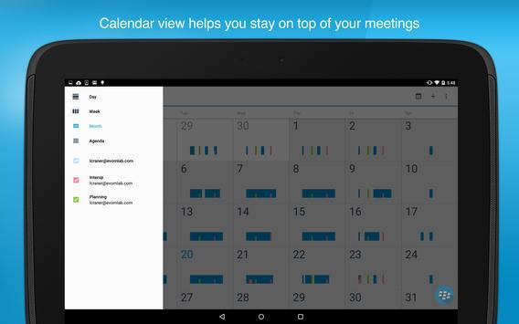 BlackBerry Work screenshot 13