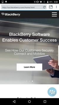 BlackBerry Access Affiche