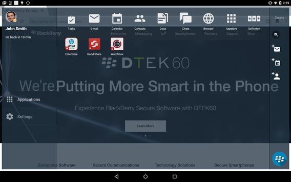BlackBerry Access capture d'écran 16