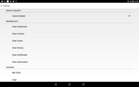 BlackBerry Access capture d'écran 11