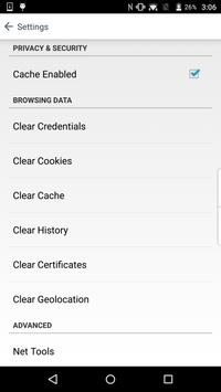 BlackBerry Access capture d'écran 5