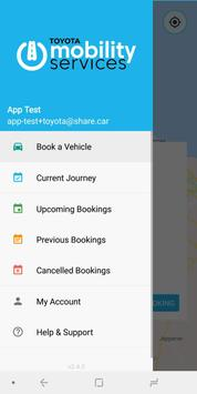 Toyota Mobility Services: TEST screenshot 4