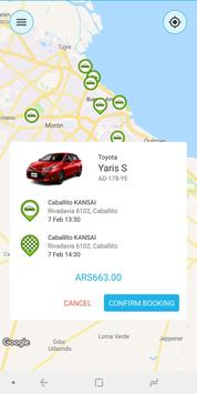 Toyota Mobility Services: TEST screenshot 3