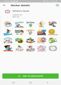 Good morning and good night stickers for whatsapp screenshot 3