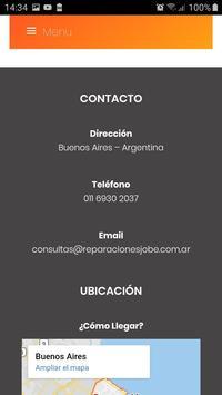 Reparaciones Jobe screenshot 14