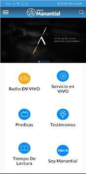 Iglesia Manantial de Vida Eterna screenshot 2