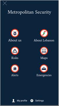 Metropolitan Security Lebanon poster