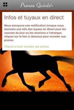 Pronos Quinté, infos et tuyaux screenshot 3