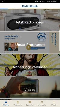 Radio Horeb screenshot 1