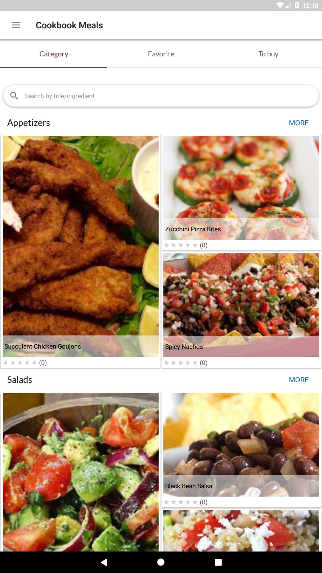 Cookbook Meals 2