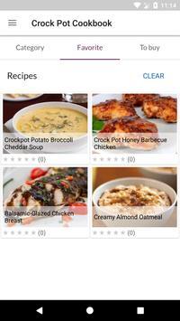 Crock Pot Cookbook screenshot 3
