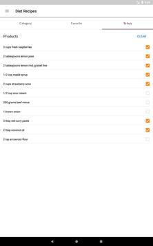 Diet Recipes स्क्रीनशॉट 10
