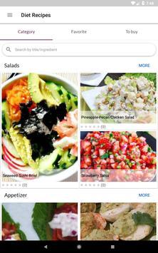 Diet Recipes स्क्रीनशॉट 12