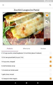 Diet Recipes स्क्रीनशॉट 14