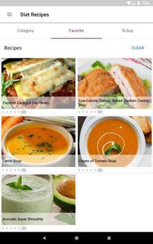 Diet Recipes स्क्रीनशॉट 15