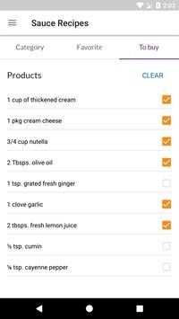 Sauce Recipes screenshot 4