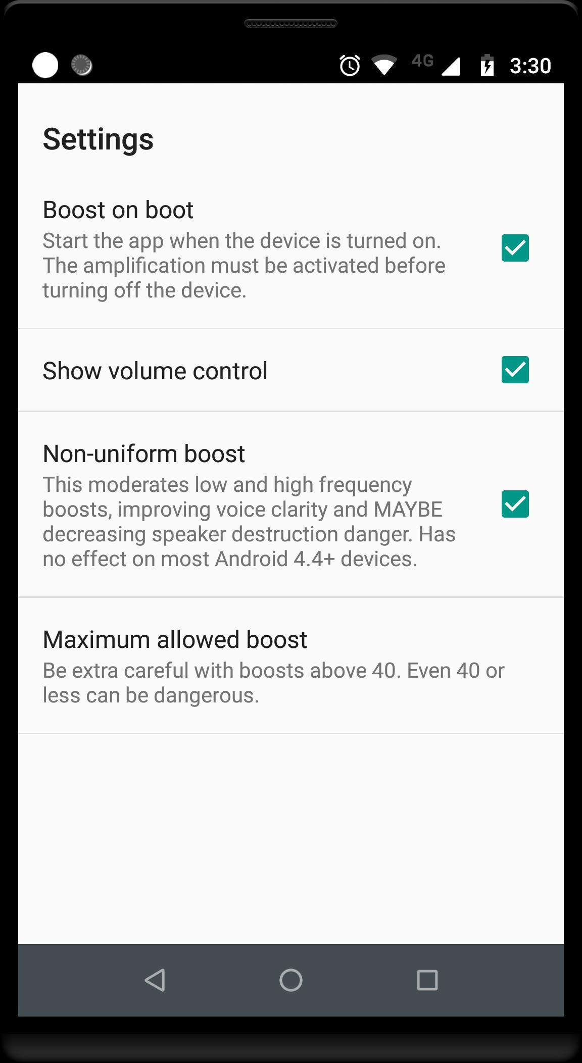 Volume Booster GOODEV for Android - APK Download