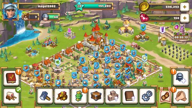 Empire: Age of Knights - MMO médiéval stratégique capture d'écran 4