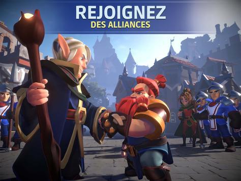 Empire: Age of Knights - MMO médiéval stratégique capture d'écran 8